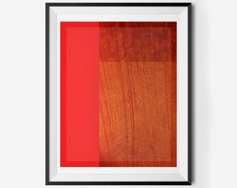 Mark Rothko-Like Simple Abstract Printable Wall Art, Instant Download