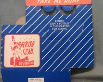 Harmony Club Beverages Take me Home Empty Bottle Return Carton