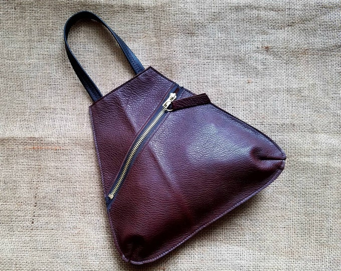 Wristlet Drop in Dark Chocolate Brown Leather
