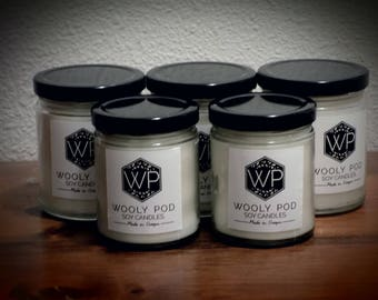 Buy any five 9 oz soy candles for 85, get two free and save 34 dollars.