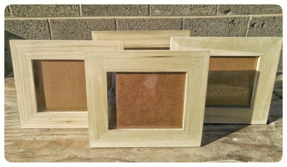 Poplar Frames, 8x10 Poplar Frames, 4 Poplar Frames, Bulk Wood Frames ...