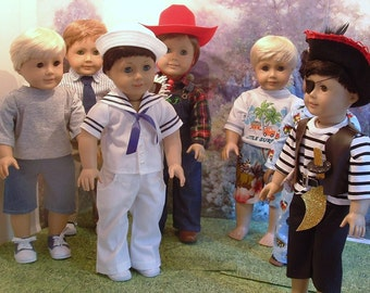 Meet the Boys 18 Inch Boy Dolls Custom Order