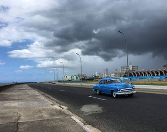 Wooden Art - Sun Meets Storm - Havana, Cuba