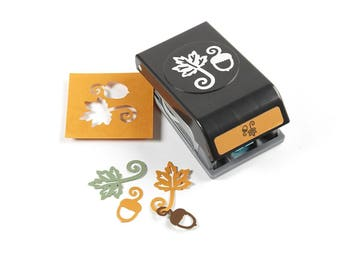 EK Success Tools  Punch Leaf & Acorn Garland - Free Shipping