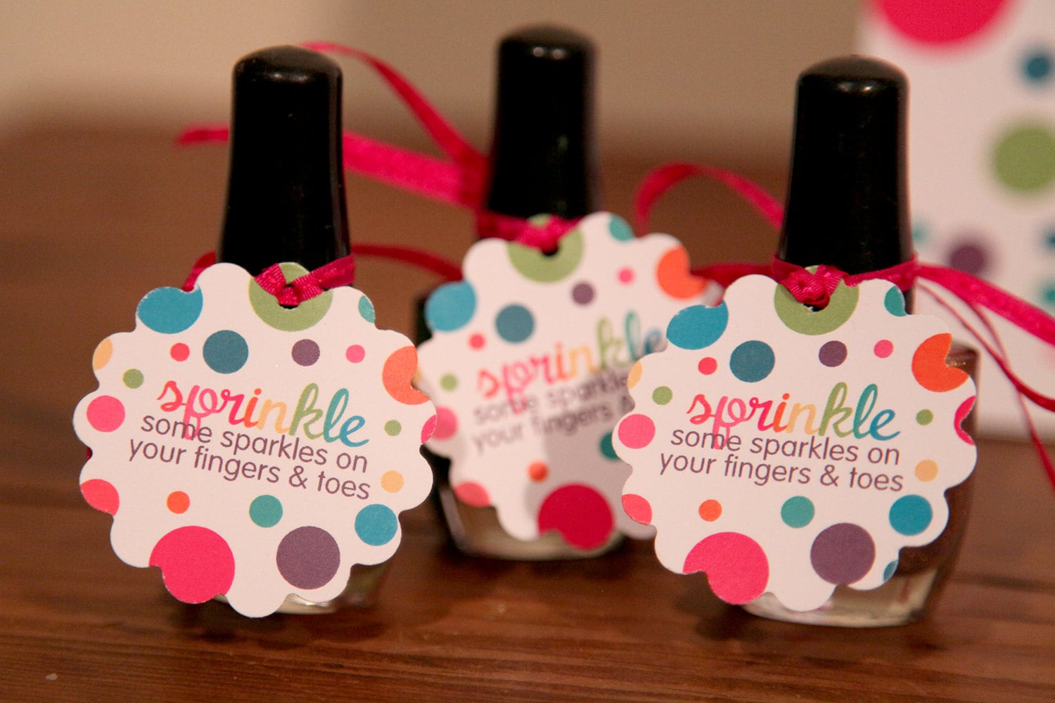 Nail Polish Party Favors Baby Shower - Creative Touch