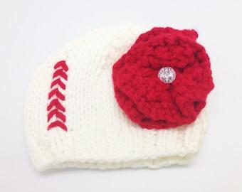 Baseball Knit Hat (0-12 months)