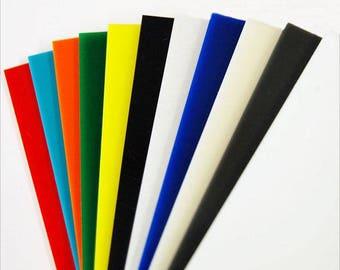 Acrylic Sheet, A4, 3mm (font colour: blue)