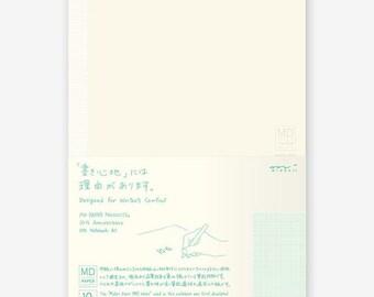 Midori MD Notebook - 10th Anniversary Edition - A5 - 1mm Graph/Grid