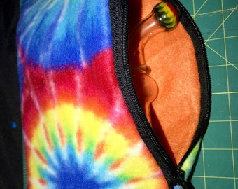 Zipper pouch for glass banger