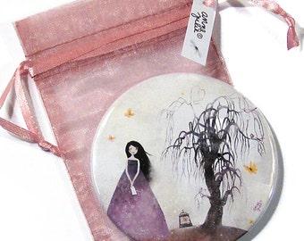 The Whishing Tree - Pocket Mirror