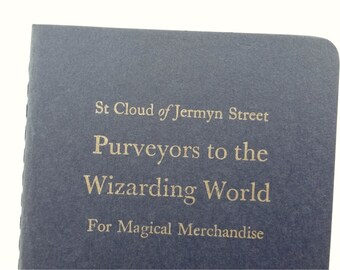 Wizards - Funny Letterpress Notebooks, Cahiers, Jotters, Mini Journals