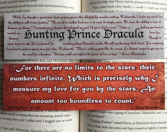 Hunting Prince Dracula Bookmarks