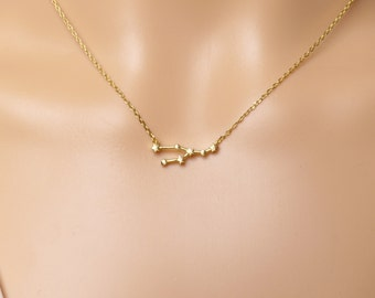 High quality zodiac Taurus Constellation Necklace,Taurus Necklace,Zodiac necklace, Gift idea,zodiac jewelry,celestial jewelry