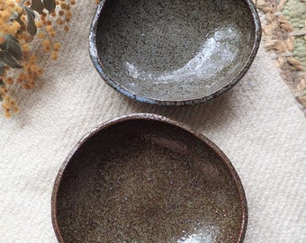 Asymmetrical Wabi-Sabi Bowl Set