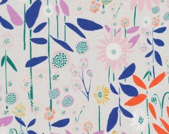 SALE - Cloud 9 Fabrics - Floret Collection - BATISTE Aubade in Foggy Dew Organic