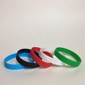 5 Pack Nike Wristband bracelets Baller id Sports accessory