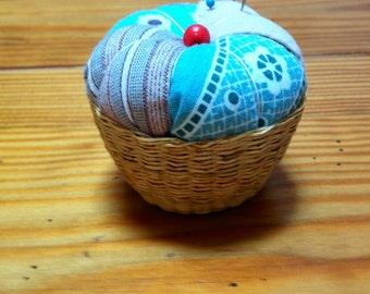 Pincushion pin cushion keeper basket