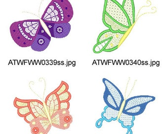ColorLace-Butterflies  ( 11  Machine Embroidery Designs from ATW ) XYZ17E