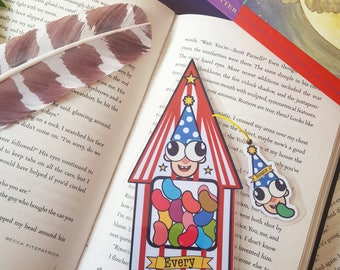 Bertie Bott's Every Flavour Beans bookmark Harry Potter
