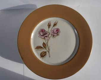 Fine Art Fine China Mission Rose Dinner Plate