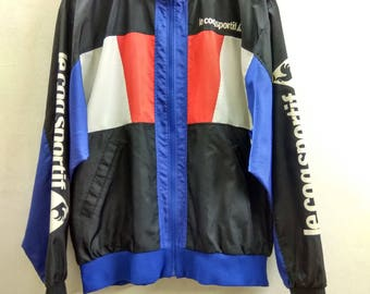 Rare Vintage jacket multicolor / sweater le cod sportif / multicolor