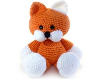 Toby the Tabby Cat Crochet Pet
