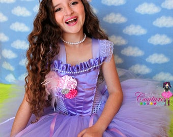 SALE! Gorgeous Lavender Easter tutu dress size 5/7