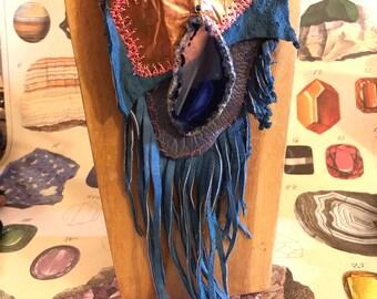 Native BoHo Gypsy Medicine Bag/ Pouch