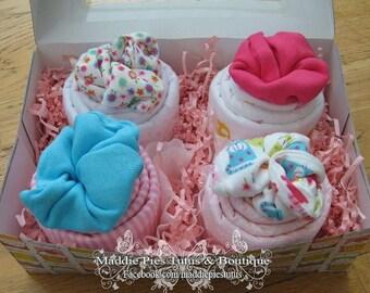 Cupcake blanket/onesie set