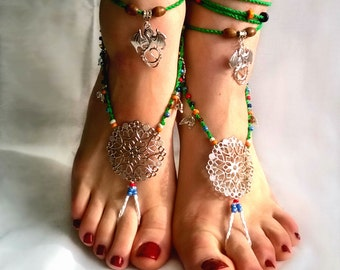 Barefoot Sandals, Barefoot Beach Jewelry