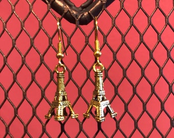 Eiffel Tower earrings