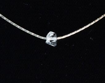 Raw Quartz Diamond, Herkimer Diamond, Herkimer,  Herkimer Diamond Necklace, Raw Herkimer Diamond Necklace, Herkimer Jewelry, Jewelry, Gift