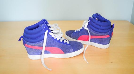 6 Vintage 90s Vintage Shoes 9 Hop EUR Hi Puma Clothing Suede 40 High Tops Puma US UK Tops 5 9 Sneakers Shoes Hip Vintage Clothing naUw6q4n