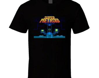 Super Metroid Super Nintendo Snes T Shirt