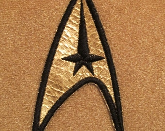Star Trek TOS Original Series Uniform Insignia Patch - Command USS Enterprise