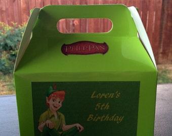 Light green personalized Birthday Favor Box