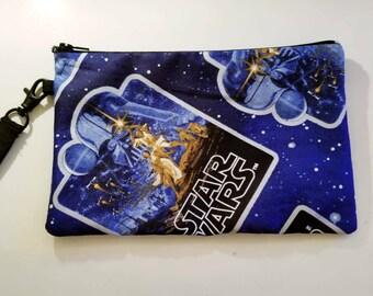 Star Wars Zipper Pouch Handbag Wristlet