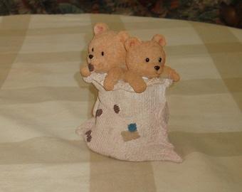 Teddy Bears in a Sack