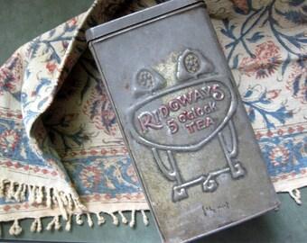 Vintage Ridgway Tea Tin, One Pound Tin