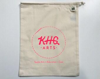 KHG Arts Project Bag. Neon Pink.