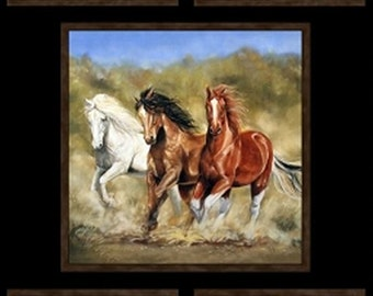 "Happy Trails 24"" x 45"" Panel from Elizabeth Studio by the panel"