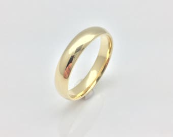 blue band sapphire round ring rings in eternity yellow gold over bands plated p for silver him