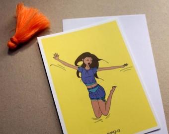 Postcard - Nanouq - awakening - yay