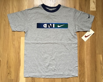 vintage nike white tag shirt youth size XL deadstock NWT 90s made in USA