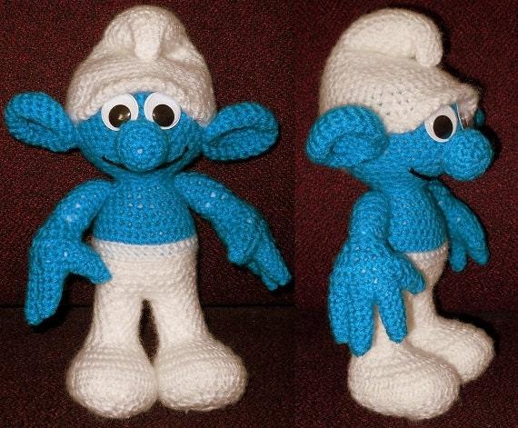 Smurf-Like Crochet Doll Pattern