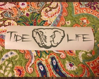 TIDE LIFE DECAL