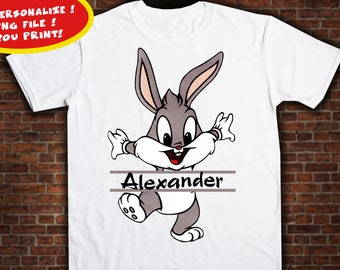 Easter, Iron On Transfer, Easter Birthday Shirt Design. Personalize Design, Digital Files Only.