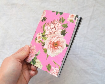Handmade Mini Journal / Junk Journal