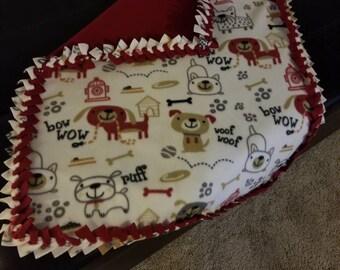 Pet fleece blankets