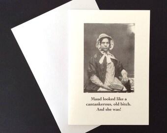 Victoriana - Maud Card